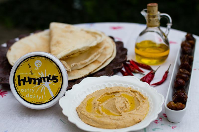 Hummus ostry daktyl