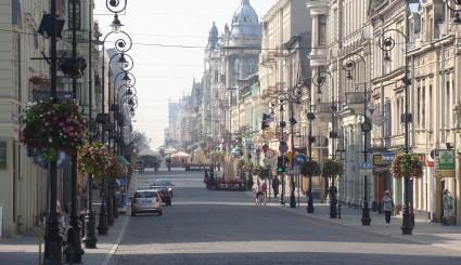 Źródło: Wikimedia Commons/ Ulica Piotrkowska w Łodzi