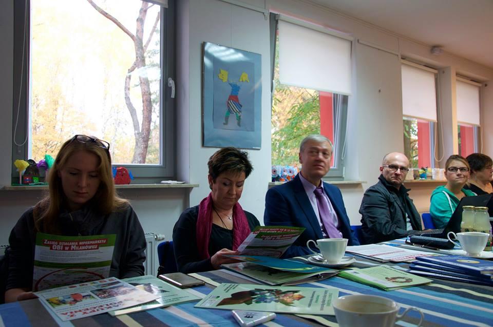 Kasia Gizińska - konferencja Lokalna Grupa Działania