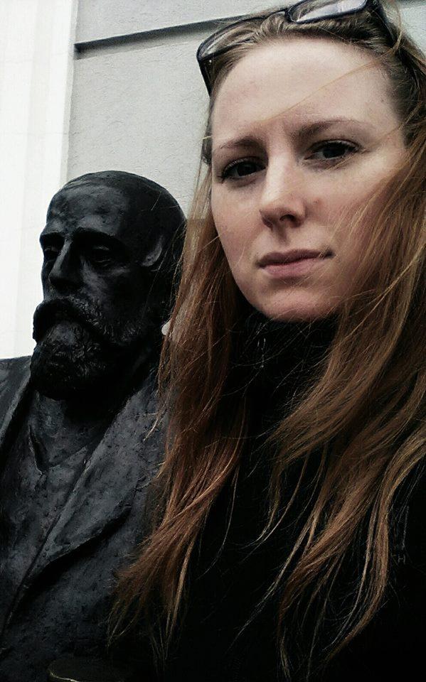 Kasia Gizińska z Łukasiewiczem