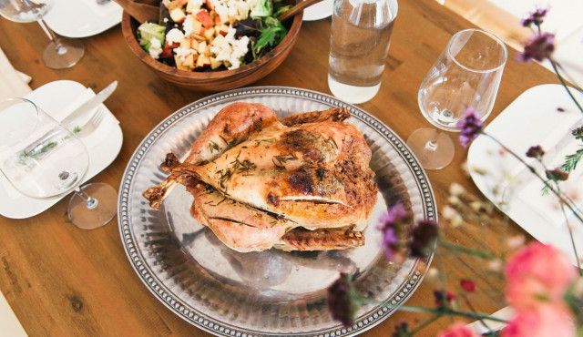kurczak pieczony na soli przepis