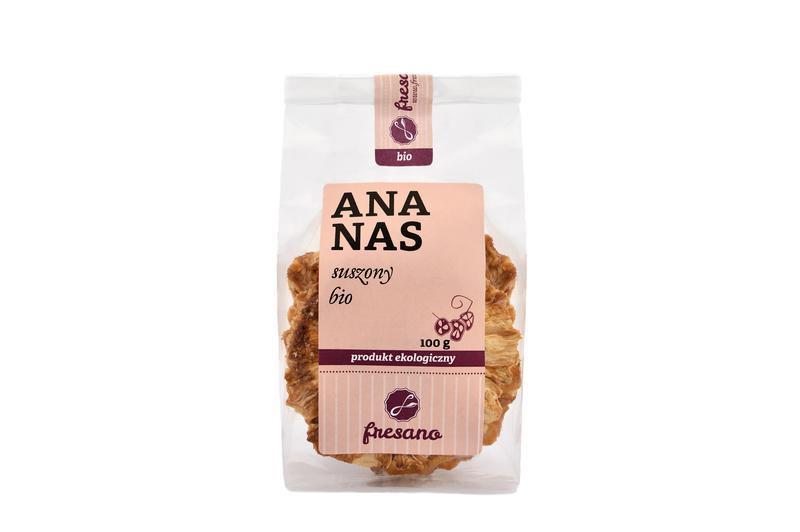 Produkt Ananas suszony BIO (EKO) - zdrowa żywność blisko Ciebie