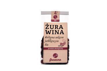 Produkt Żurawina słodzona sokiem jabłkowym BIO - zdrowa żywność blisko Ciebie