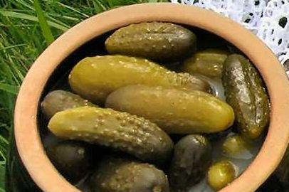 Produkt Ogórki kiszone Czar Natury w słoiku (EKO) - zdrowa żywność blisko Ciebie
