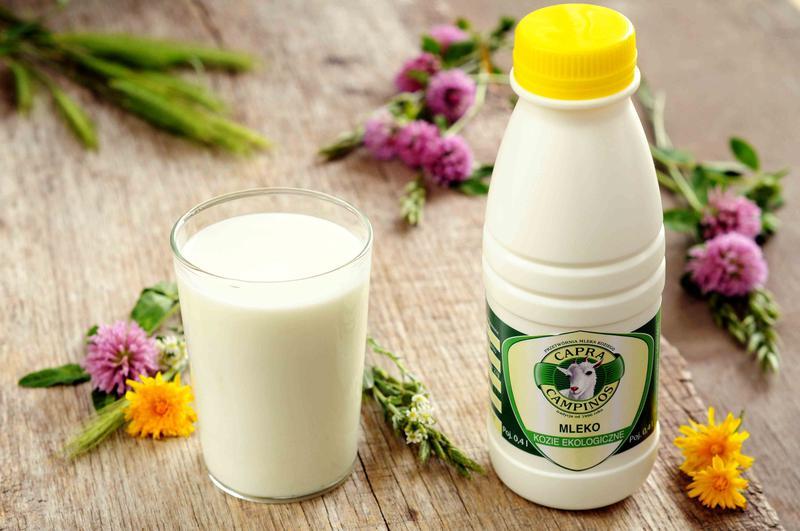 Produkt Mleko kozie ekologiczne pasteryzowane {EKO} - zdrowa żywność blisko Ciebie