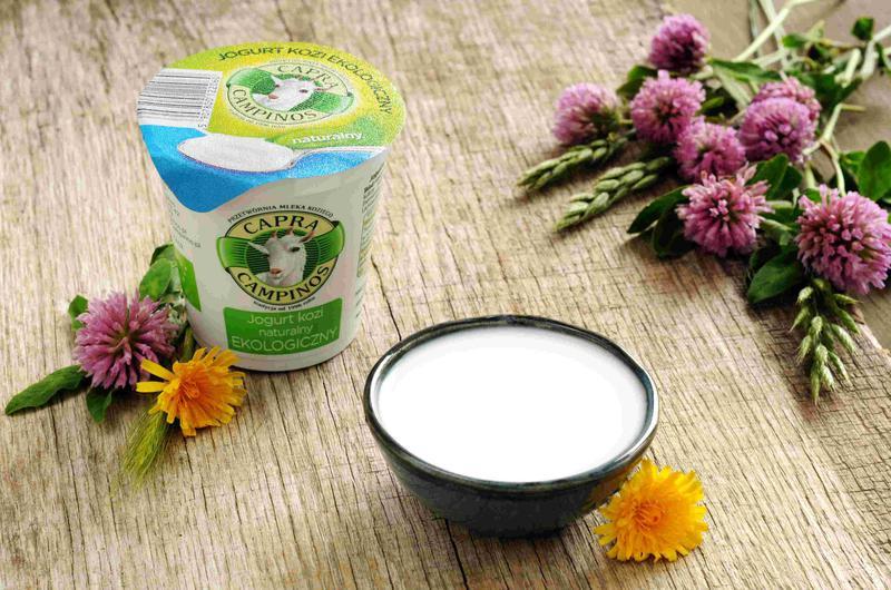 Produkt Jogurt z mleka koziego ekologiczny - naturalny {EKO} - zdrowa żywność blisko Ciebie