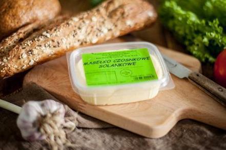 Produkt Masełko wiejskie czosnkowe - zdrowa żywność blisko Ciebie