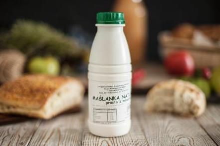 Produkt Maślanka naturalna prosto z maselnicy - zdrowa żywność blisko Ciebie