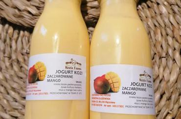 Produkt Jogurt kozi Zaczarowane Mango - zdrowa żywność blisko Ciebie