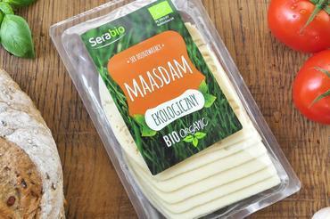 Produkt Ser Ekologiczny MAASDAM  w plastrach 125g - zdrowa żywność blisko Ciebie