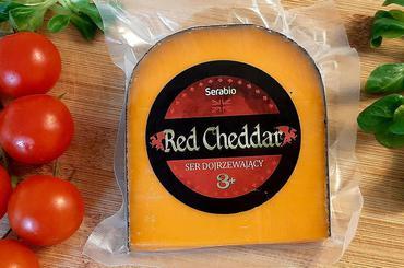 Produkt Ser Red Cheddar klin 200g - zdrowa żywność blisko Ciebie