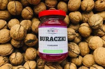 Produkt Buraczki z chrzanem - zdrowa żywność blisko Ciebie