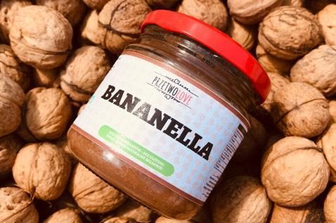 Produkt Bananella - banany z gorzką czekoladą - zdrowa żywność blisko Ciebie