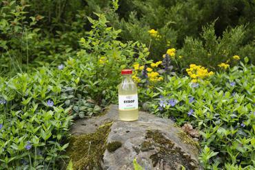 Produkt Sok z kwiatów czarnego bzu bez cukru - zdrowa żywność blisko Ciebie