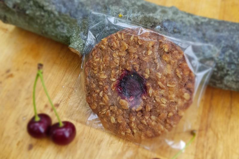 Produkt Ciastko owsiane z wiśnią i gorzką czekoladą - zdrowa żywność blisko Ciebie