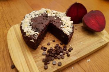 Produkt Wegańskie brownie-buraczane, średnica 16 cm - zdrowa żywność blisko Ciebie
