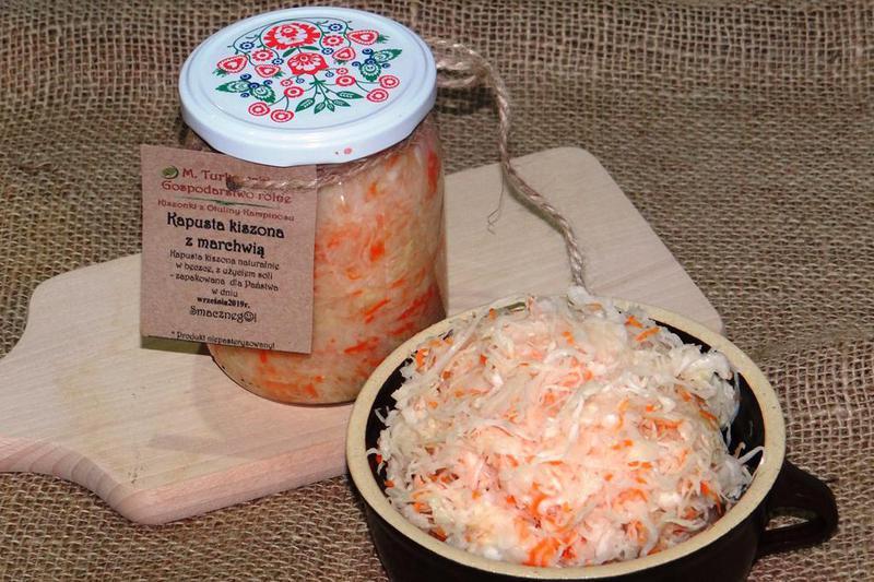 Produkt Kapusta kiszona z marchwią - zdrowa żywność blisko Ciebie