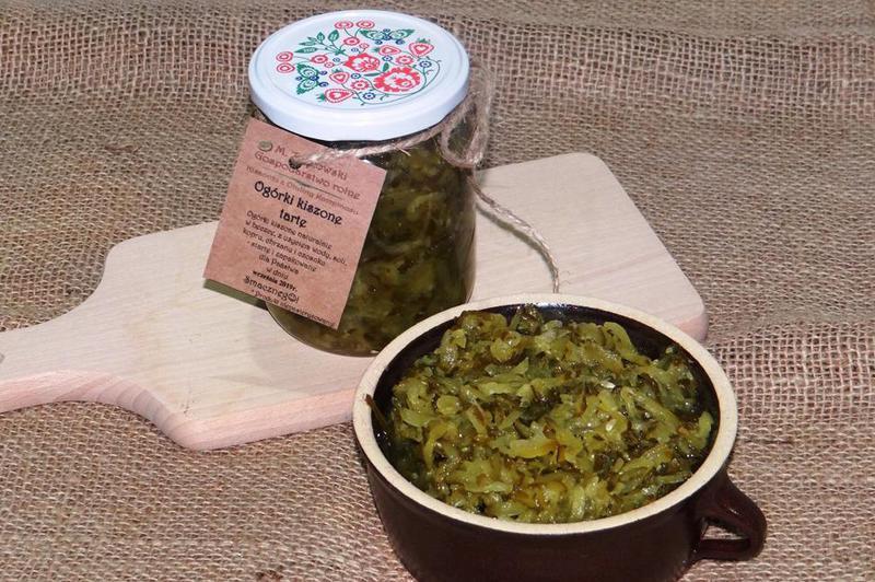Produkt Ogórki kiszone tarte - zdrowa żywność blisko Ciebie