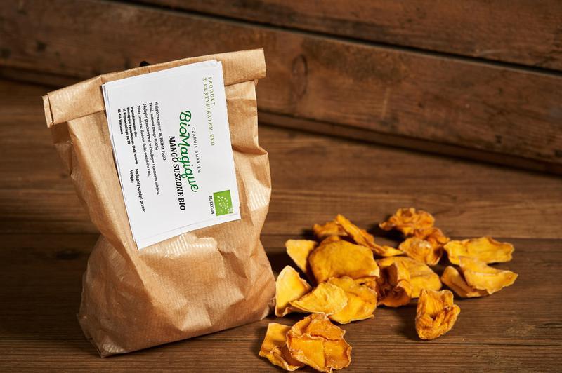 Produkt Mango suszone BIO 100g - zdrowa żywność blisko Ciebie