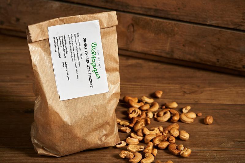 Produkt Orzechy nerkowca prażone 200g - zdrowa żywność blisko Ciebie