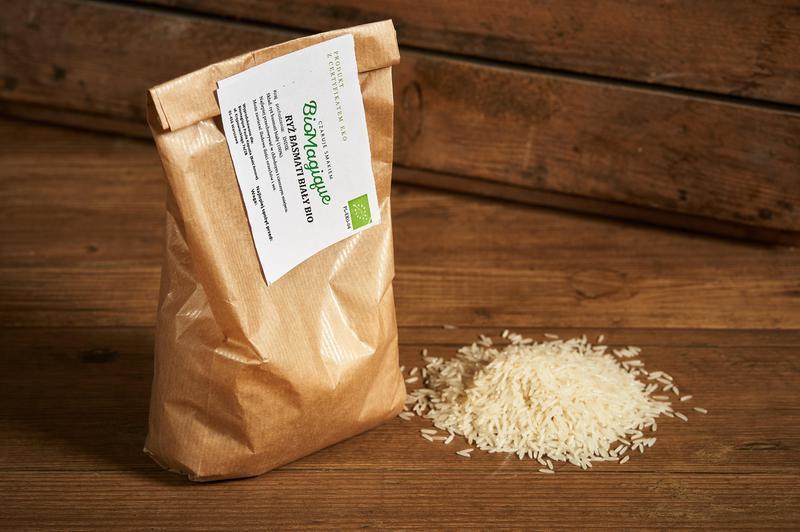 Produkt Ryż basmati biały BIO 500g - zdrowa żywność blisko Ciebie