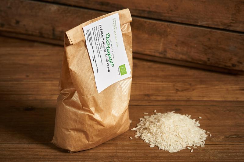 Produkt Ryż biały długoziarnisty BIO 500g - zdrowa żywność blisko Ciebie