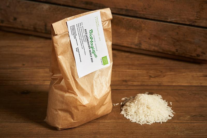 Produkt Ryż jaśminowy biały BIO 500g - zdrowa żywność blisko Ciebie