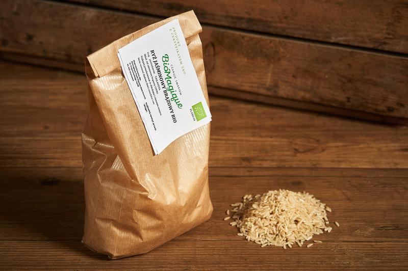 Produkt Ryż jaśminowy brązowy BIO 500g - zdrowa żywność blisko Ciebie