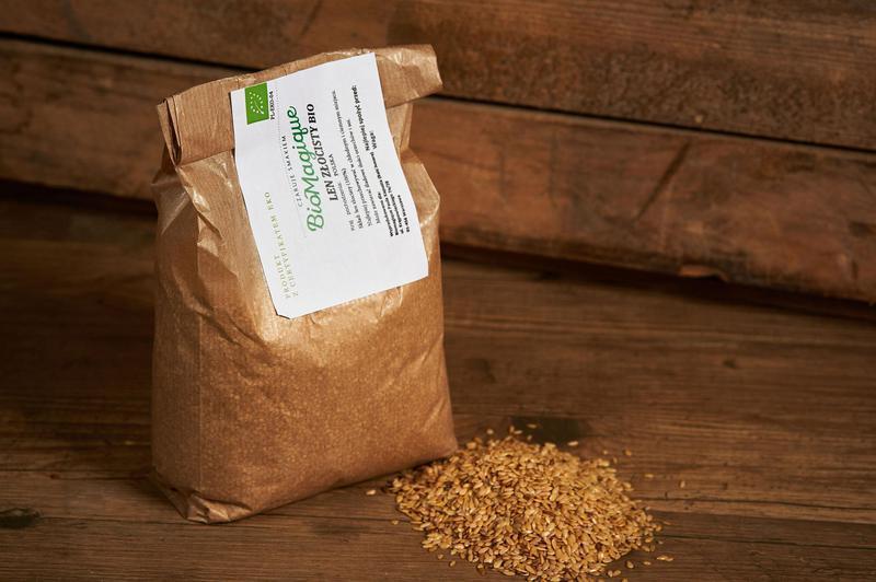 Produkt Len złocisty BIO 300g - zdrowa żywność blisko Ciebie