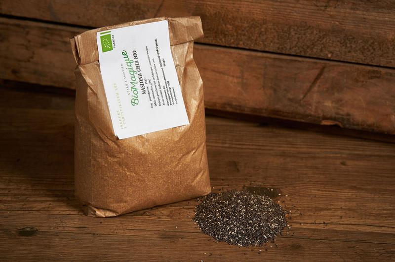 Produkt Nasiona chia BIO 300g - zdrowa żywność blisko Ciebie