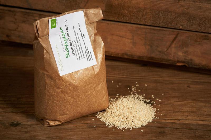 Produkt Sezam biały łuskany BIO 200g - zdrowa żywność blisko Ciebie