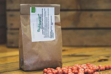 Produkt Liofilizowane truskawki w czekoladzie jagodowej BIO 200g - zdrowa żywność blisko Ciebie