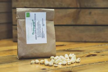 Produkt Orzechy laskowe blanszowane prażone BIO 450g - zdrowa żywność blisko Ciebie