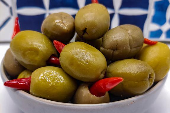 Produkt Oliwki zielone nadziewane chili - zdrowa żywność blisko Ciebie