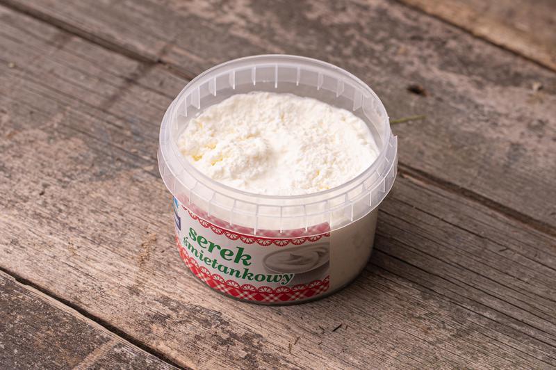 Produkt Serek śmietankowy - zdrowa żywność blisko Ciebie