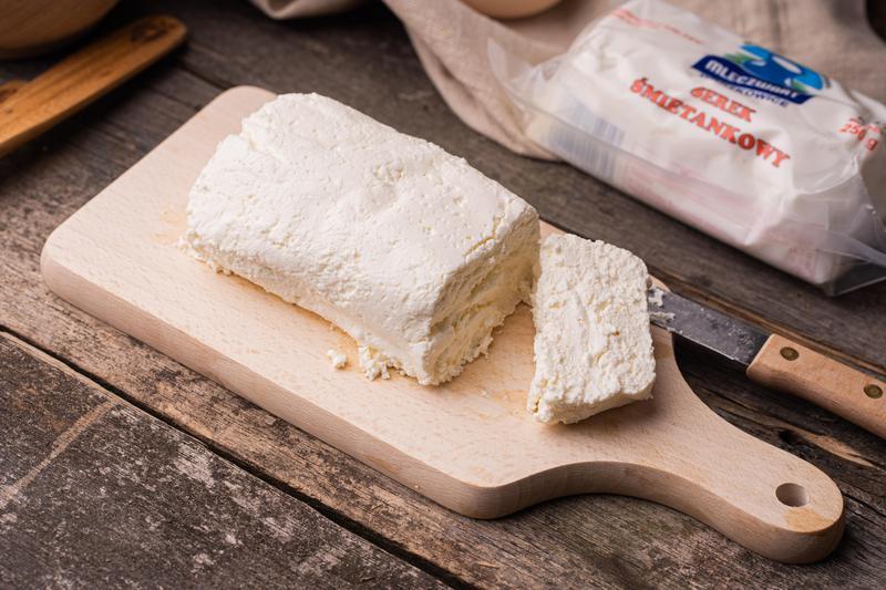 Produkt Ser śmietankowy 250 g - zdrowa żywność blisko Ciebie