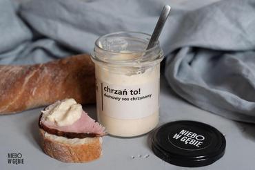 Produkt Chrzań to! Domowy sos chrzanowy - zdrowa żywność blisko Ciebie