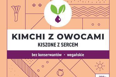 Produkt Kimchi z owocami Kiszone Specjały - zdrowa żywność blisko Ciebie