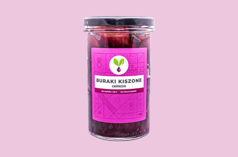 Produkt Carpaccio z buraków kiszonych Kiszone Specjały - zdrowa żywność blisko Ciebie