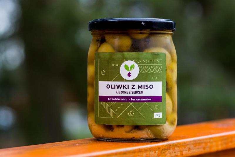 Produkt Kiszone oliwki z pastą Miso - zdrowa żywność blisko Ciebie