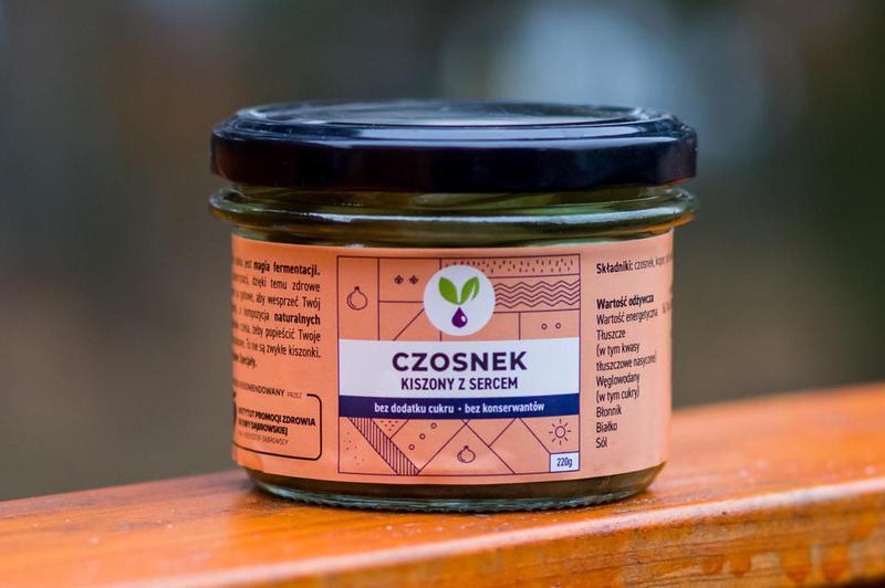 Produkt Kiszony czosnek Kiszone Specjały - zdrowa żywność blisko Ciebie