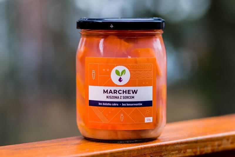 Produkt Kiszona marchew Kiszone Specjały - zdrowa żywność blisko Ciebie