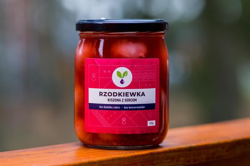 Produkt Kiszona rzodkiewka Kiszone Specjały - zdrowa żywność blisko Ciebie
