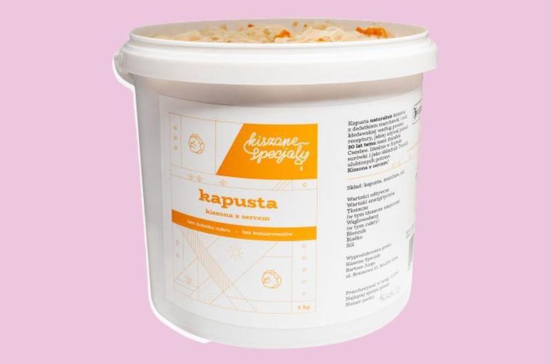 Produkt Kapusta kiszona 3kg - zdrowa żywność blisko Ciebie