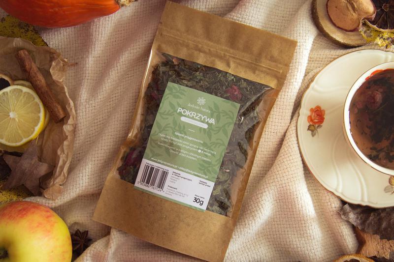 """Produkt Herbata """"Pokrzywa z malinową nutą"""" - zdrowa żywność blisko Ciebie"""