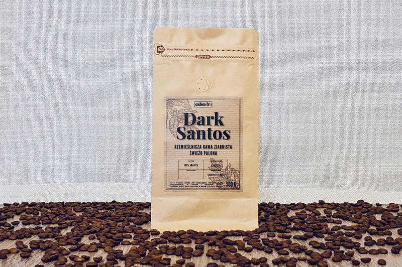 Produkt Grindit ! - Kawa Rzemieślnicza - Dark Santos - zdrowa żywność blisko Ciebie