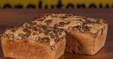 Bezglutenowy chleb codzienny jasny z dyni± 450 g