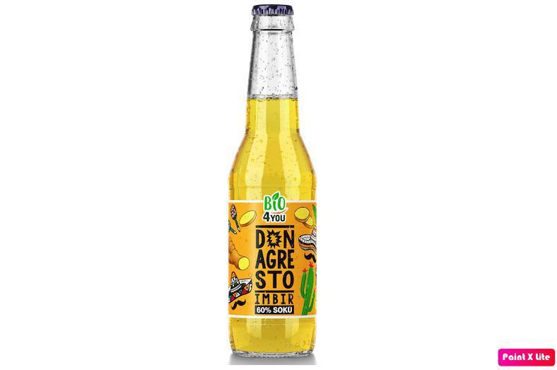 Produkt Ekologiczny napój Don Agresto Imbir  (EKO) - zdrowa żywność blisko Ciebie