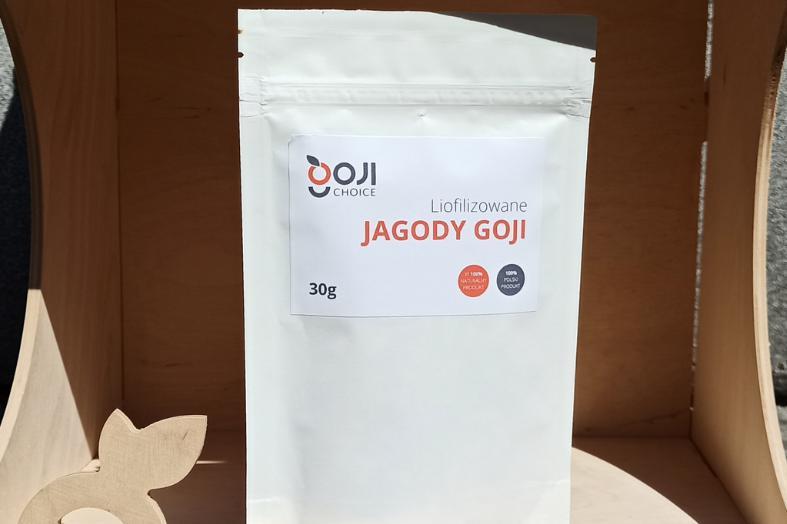 Produkt Liofilizowana Jagoda Goji 30g - zdrowa żywność blisko Ciebie