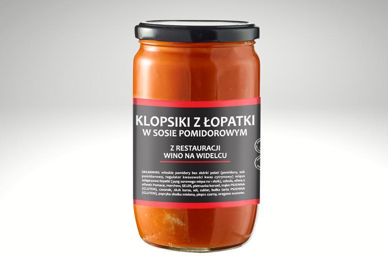 Produkt Klopsiki z łopatki w sosie pomidorowym - zdrowa żywność blisko Ciebie